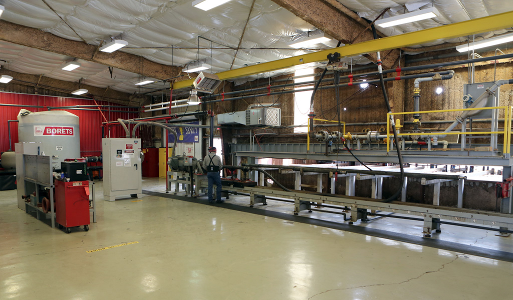 Borets facility and ESP testing in Midland