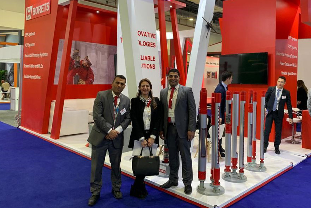 EGYPS 2020. The Borets team ready to discuss key technology like Permanent Magnet Motors.