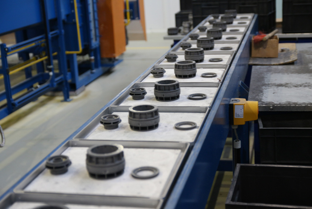 WIde ranging, wear resistant stage production at Borets' Oskol plant.