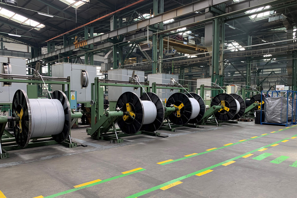 ESP power cable manufacturing at ZTS-Kabel in Slovakia.