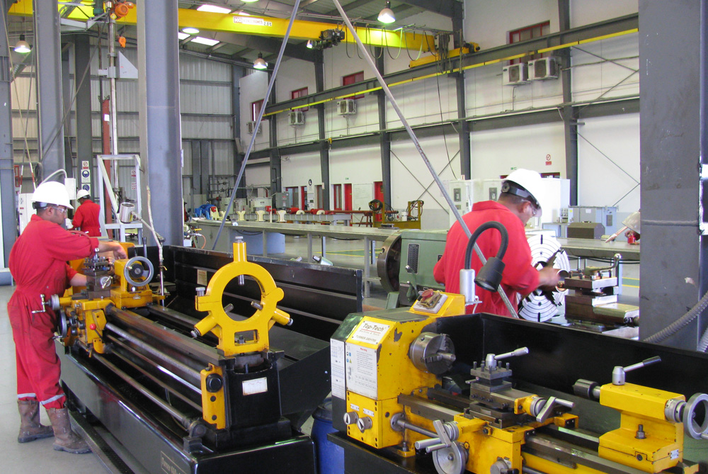 The Borets team at work in our Egypt Service Center.