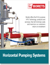 Horizontal pump systems HPS surface fluid transfer, injection disposal