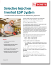 Inverted ESP system for selective injection