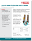 Solids and sand fallback protection for electric submersible pumps ESP